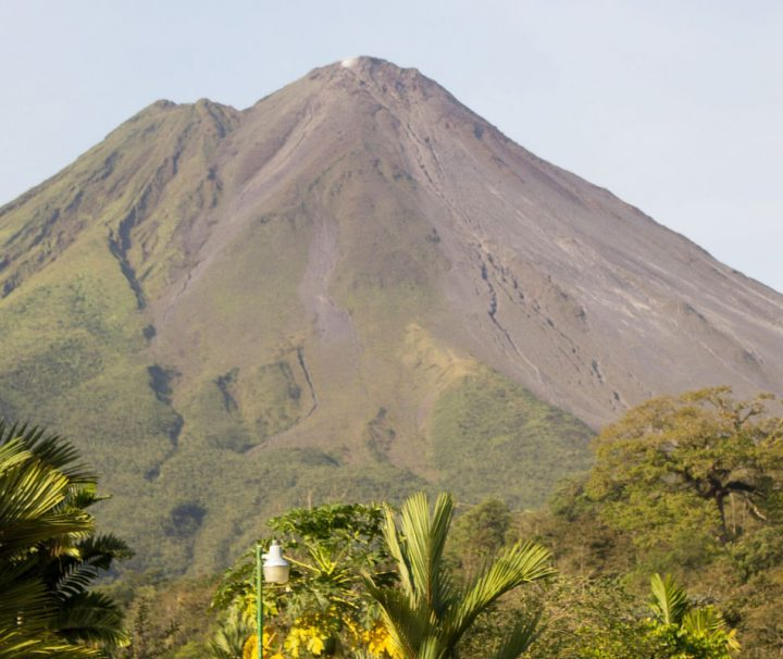 La Fortuna Volcano in Costa Rica